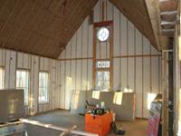 higher walls insulation