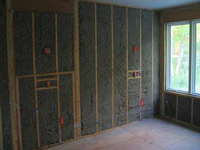 wall insulation for commercial shop