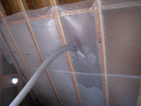 Retrofiring Walls Insulation